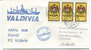 1978 Bremen Valdivia Hawaii Aloha Polar Antarctic Cover