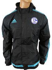 Adidas FC Schalke 04 Regenjacke Jacke  Gr.L
