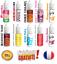ELiquide-10ml-cigarette-electronique-Liquide-Full-Saveur-du-classique-au-fruite miniature 1