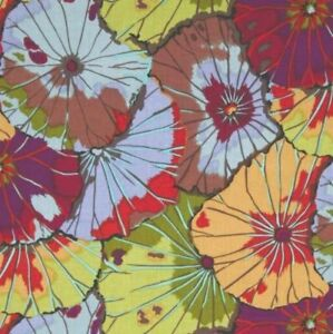 Free Spirit Kaffe Fassett Lotus Leaf GP29.Antique Floral Fabric BTY