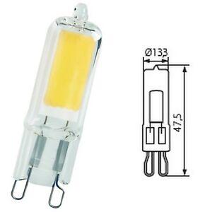 profiter de gros rabais couleur rapide vente la moins chère Détails sur Kanlux 2W Led G9 Base Capsule Lampe 2 Broches Économie  D'Énergie Ampoule Spot