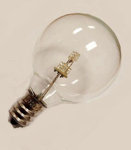 Sival para encaje ledgg Eq 4012WW 0.6W (5W) G40 130V E12 5 LED WW Bombilla Led (paquete de 25)