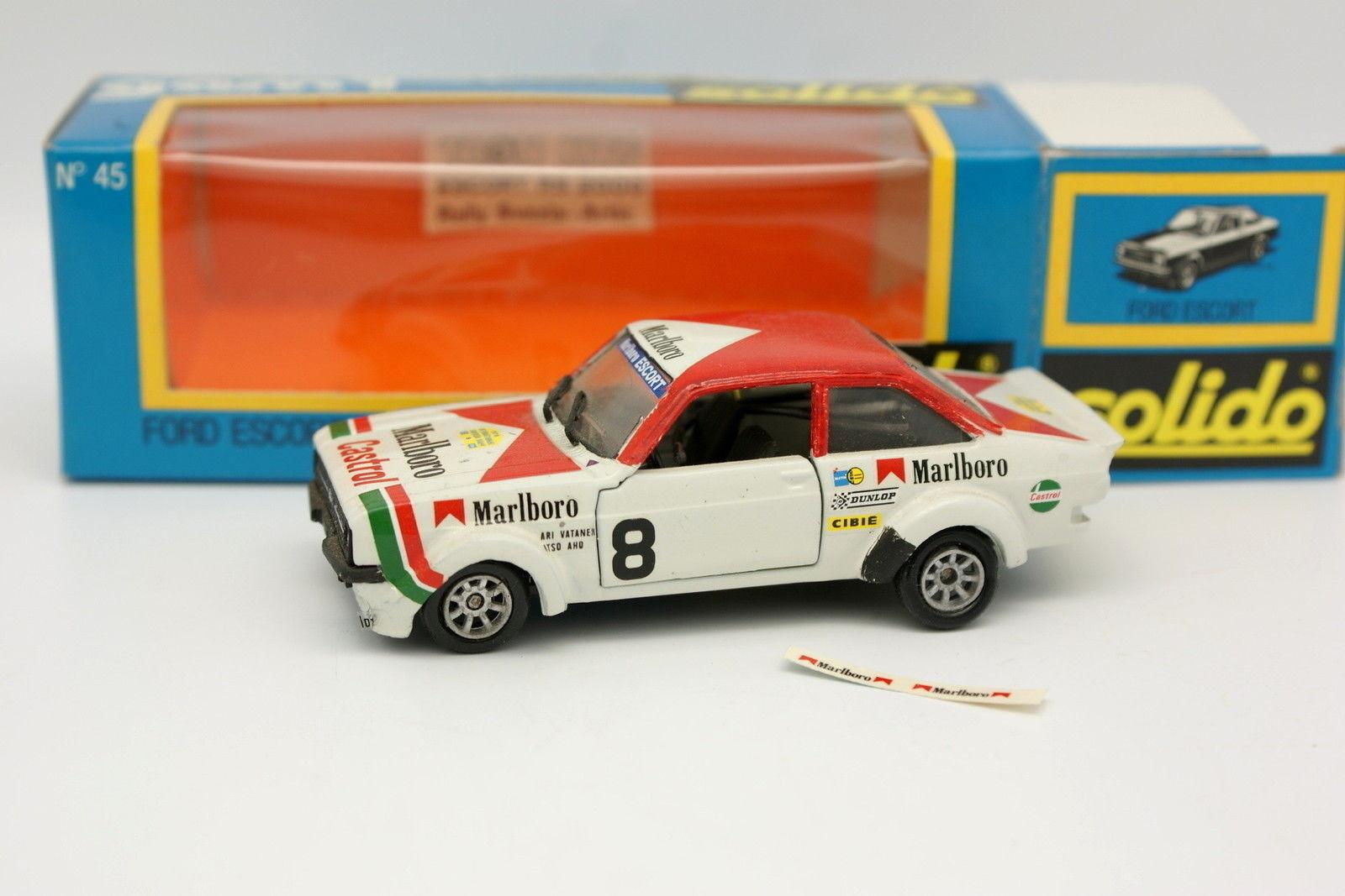 diseños exclusivos Solido Tron 1 43 - Ford Escort Rs Rs Rs 2000 Marlboro Rallye Suecia Vatanen  disfrutando de sus compras