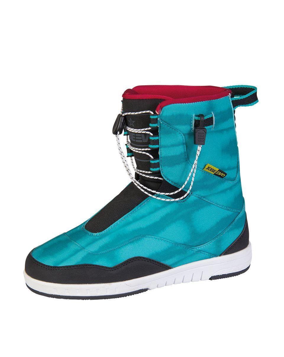 Jobe Evo Sneakers Trainers Women's Teal Wakeboardbindung New Binding Wakeboard 9