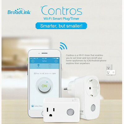 BroadLink SP3 Contros WiFi Plug Smart Home Socket Switch Controller iOS Android
