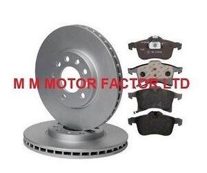 VAUXHALL-ASTRA-H-MK5-04-1-4-1-6-1-9-CDTi-280-Mm-Avant-Disques-De-Frein-Et-Plaquettes