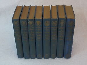 NORTH'S PLUTARCH'S LIVES 8 Vols Limited Editions Club SIGNED W. A. Dwiggins 1941