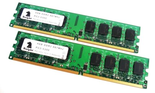 2x4GB DESKTOP 8GB KIT DDR2 667 MHZ PC2 5300