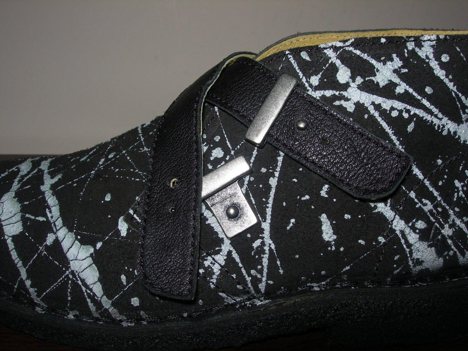 Fly London Para Hombre Y Mujer Unisex Desierto UK Tobillo botas Negro Gamuza EU 40 UK Desierto 6.5 e52408