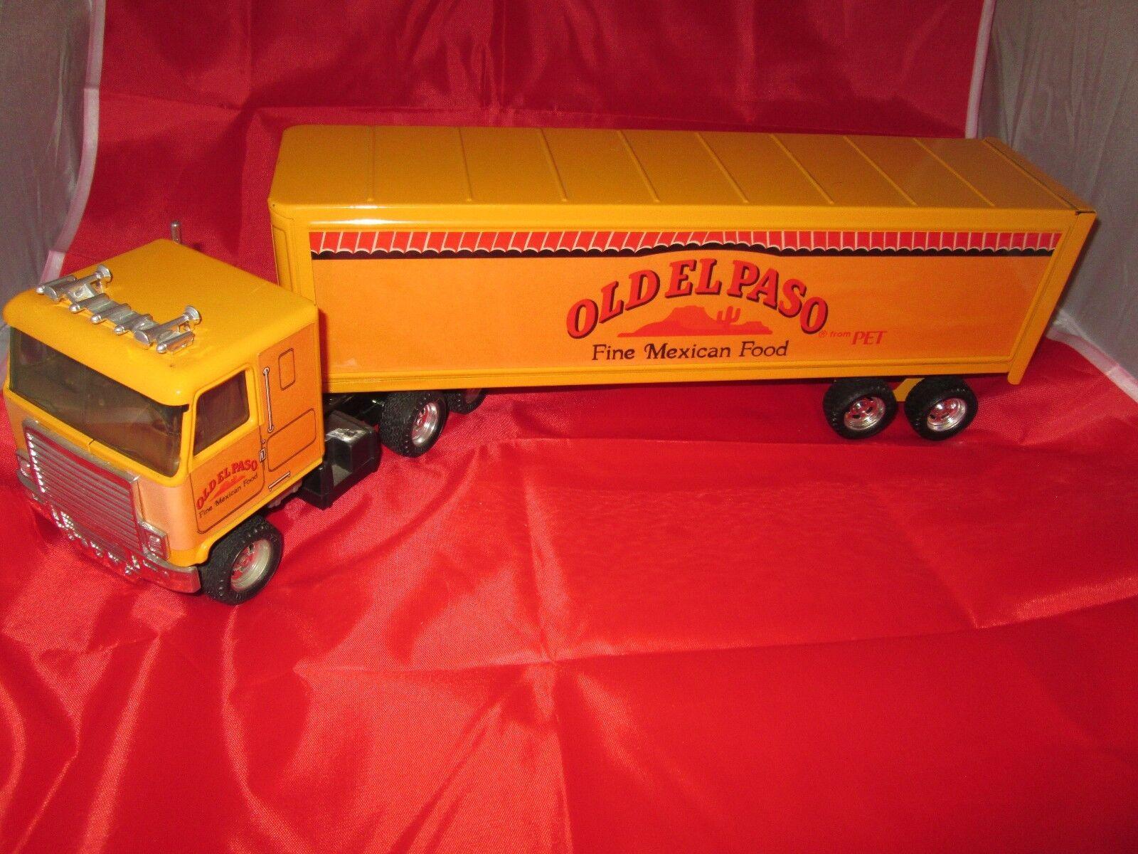 Ertl Old el paso Truck & Trailer tractor semi