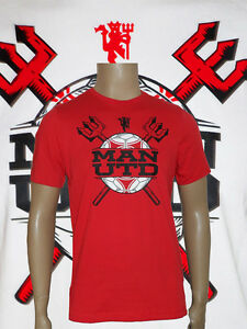 2e3406fbd1 Details about Man Utd 100%Cotton T-Shirt Size 4/5 yrs Euro 110cm Red