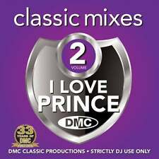 DMC I Love Prince Megamixes & 2 Trackers Vol 2 Mixes Remixes Ft Roachford DJ CD