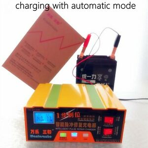 auto 12v 24v 100ah car battery charger for both lead acid. Black Bedroom Furniture Sets. Home Design Ideas