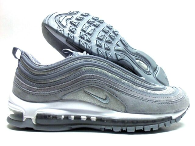check out e77ce 919d1 Nike Women's Air Max 97 Wolf Grey/wolf Grey At0071-001 Sz 12