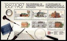 CANADA - BF - 1987 - CAPEX '87 - Esposizione Filatelica Internazionale