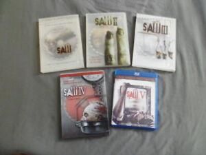 Coleccion-de-Sierra-1-5-Lote-de-5-DVD-y-Bluray-individual-Tobin-Bell-Donnie-Wahlberg