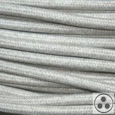 Textilkabel Stoffkabel Lampen-Kabel Stromkabel Baumwolle Melange 3adrig