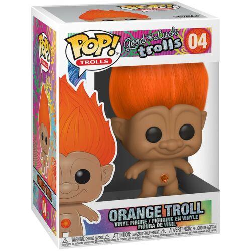 Funko Pop Arancione TROLL IN VINILE da collezione figure #04