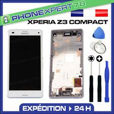 ÉCRAN LCD + VITRE TACTILE BLOC ASSEMBLÉ SONY XPERIA Z3 BLANC COMPACT