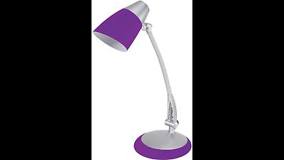 Alba Tischleuchte Fluofit P Violett Purple Schreibtischlampe Leuchte Energiespar 2019 New Fashion Style Online Büromöbel Tischleuchten