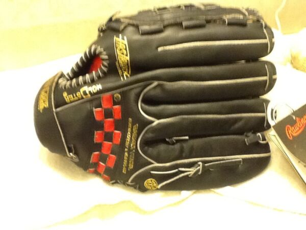 81d69446035 Rawlings SG 76B 13  Baseball Softball Glove Left Handed Throwing New W Tags.  Hover to zoom