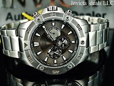 Invicta Men's Pro Diver Ocean Cruiser Swiss ISA Multifunction Gray Dial SS Watch