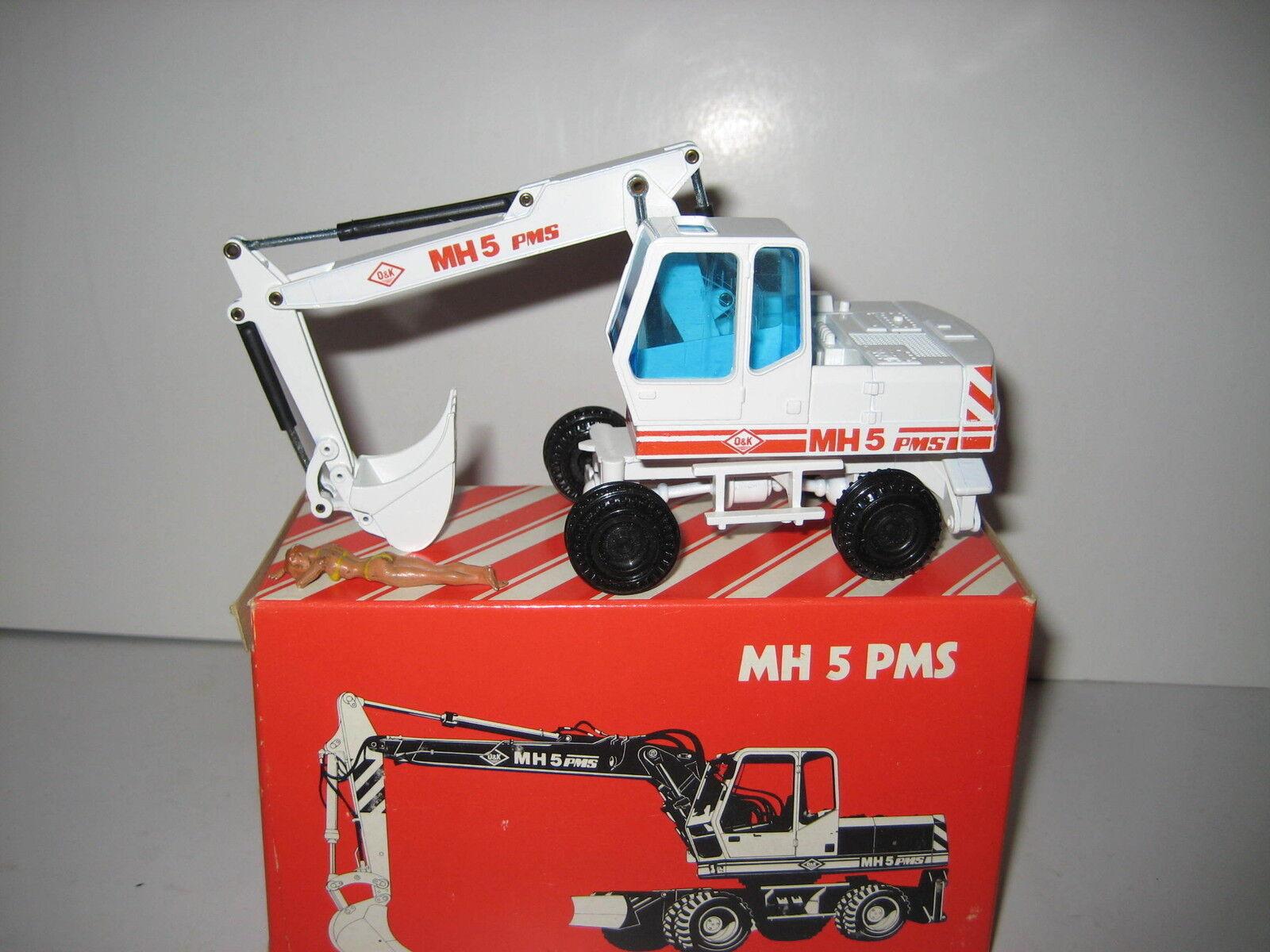 O&k MH 5 PMS excavator Deep Spoon Mobile Weiß  333.2 NZG 1 50 OVP