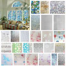 45*200cm Fensterfolie Sichtschutzfolie Milchglasfolie Static Klebefolie Fenster