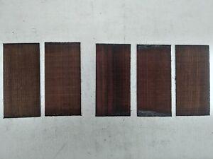 (5) Lot De 5,Palissandre Noyer / Plaques Tête /Revêtement /Peghead Guitar/ Banjo