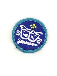 UK-Explorer-Scout-Badge-post-2002-Performing-Arts-Scouting-Patch-Entertain