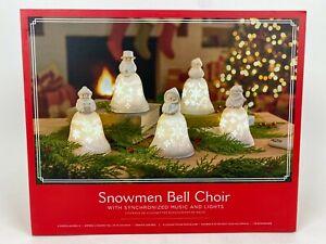 Hallmark Snowmen Bell Choir 2020 With Synchronized Music New Sealed In Box
