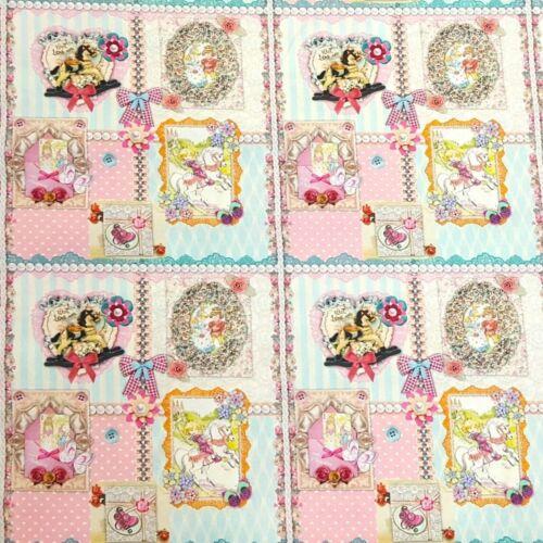 100/% Coton Popeline substances pression Poplin DECO vêtements patchwork 2386//001