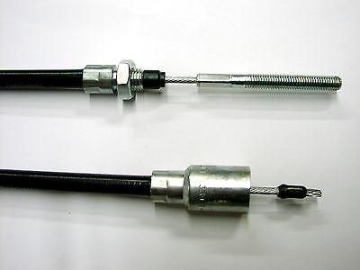 2x KNOTT Original Bremsseil Bowdenzug Seilzug Hüllenlänge 1330 mm mit M8 Gewinde