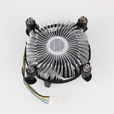 New Computer CPU With Heatsink Fan for PC Intel Core2 LGA Socket LGA775 Black