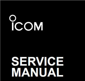 Details about ICOM RADIO SERVICE MANUALS