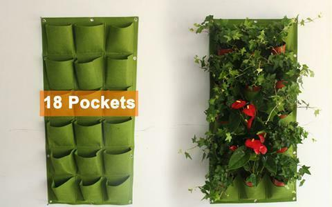 Garden Plant Pot Growing Wall Bags Felt Fabric Thermo Eco Friendly VOLUME=VALUE