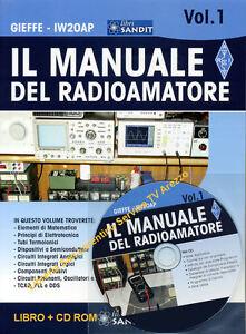 Schemi Elettrici Per Radioamatori : Manuale del radioamatore libro radiotecnica e cd omaggio schemi