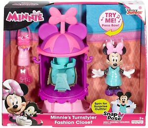2d733e6c6f572 Image is loading NEW-Disney-Minnie-Mouse-Turnstyler-Fashion-closet-Fisher-