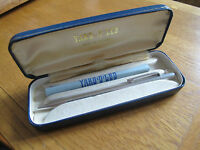 CASED HALLMARKED STERLING SILVER 'YARD O LED' BALLPOINT PEN - 1970