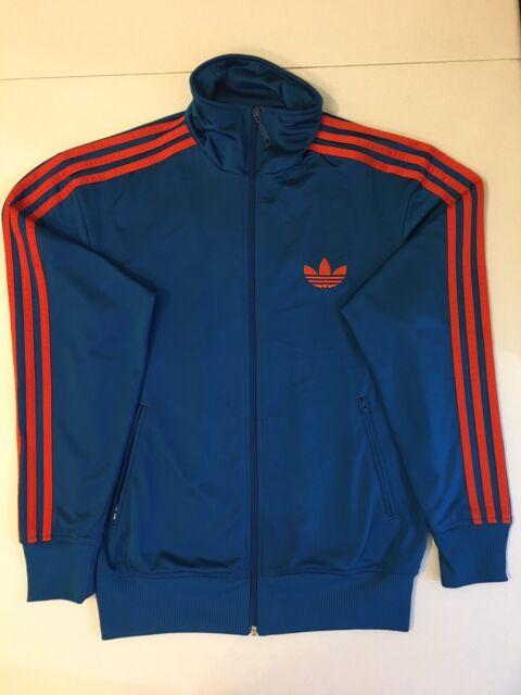 Adidas Originals ADI Firebird Track Top Jacket Blue Red Size S X52726