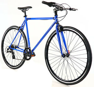 Golden-Cycles-Velo-Revo-Shift-7-speed-Bicycle-Bike-Blue-41-45-48-52-55-59-62-CM
