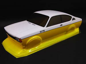 Opel-Kadett-C-coupe-GT-E-Youngtimer-carroceria-kit-1-10-sin-pintar-con-Decals