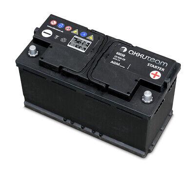 AGM Autobatterie 12V 92Ah 850A Start-Stop-Technologie Originalteile Qualität