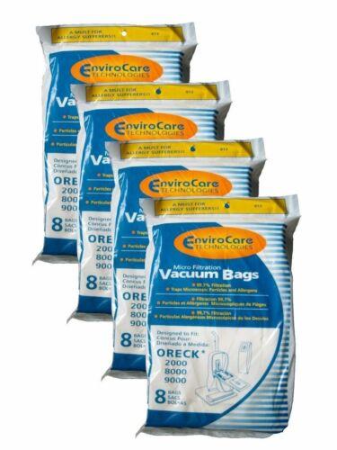 32 Oreck XL type CC Allergy Vacuum Bag CCPK8 PK80009 2000 3000 4000 8000 9000