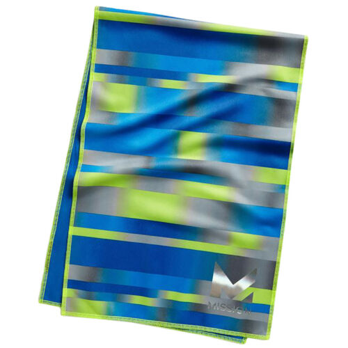 """11/"""" x 33/"""" Mission Athletecare HydroActive Max Large Cooling Power Towel"""