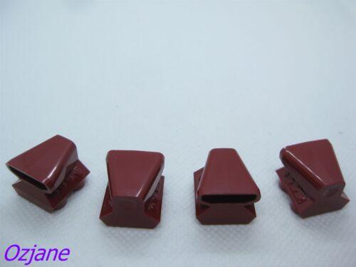 LEGO PART 50943 VEHICLE 2 X 2 AIR SCOOP DARK RED X 4 PCS