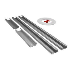 one size Genie GEN39026R Garage Door Opener Extension Kit for 5-Piece Belt-Drive Tube Rails Metallic