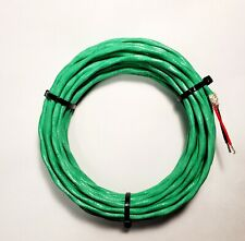 Wire Mil Spec Ptfe 18 Awg 2 Cond Shielded Silver Plated Copper Stranded 10 Ft