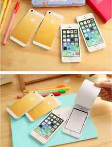Funny-Fake-Iphone-5-50pages-pack-Memo-Writing-Pad-Paper-Note-Sticky-Pad
