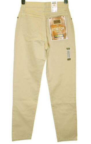 Bnwt authentique femme Wrangler lucy jeans stretch comfort fit straight leg crème